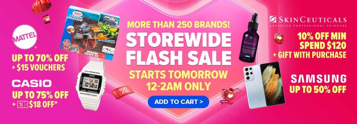 Lazada Brand Sale